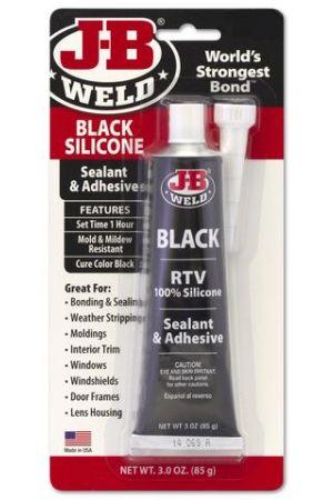 J-B Weld RTV Black Silicon