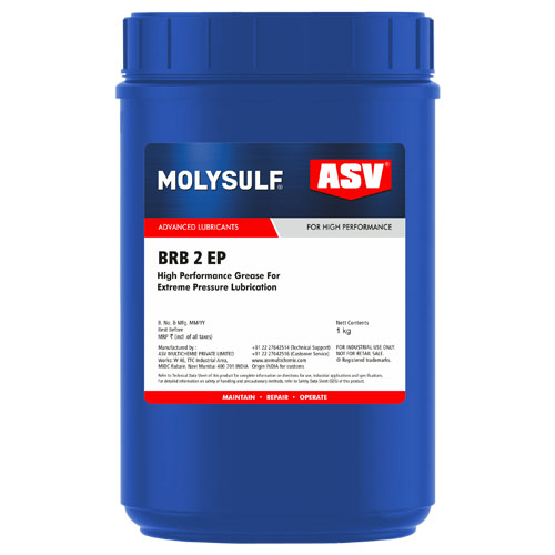 ASV BRB 2 EP High Performance Grease