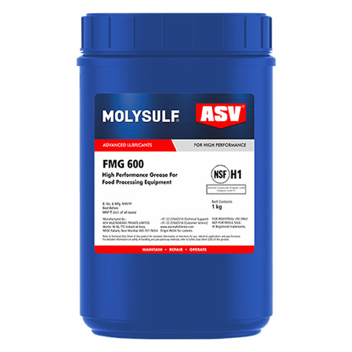 ASV FMG 600 Food Grade Synthetic Grease